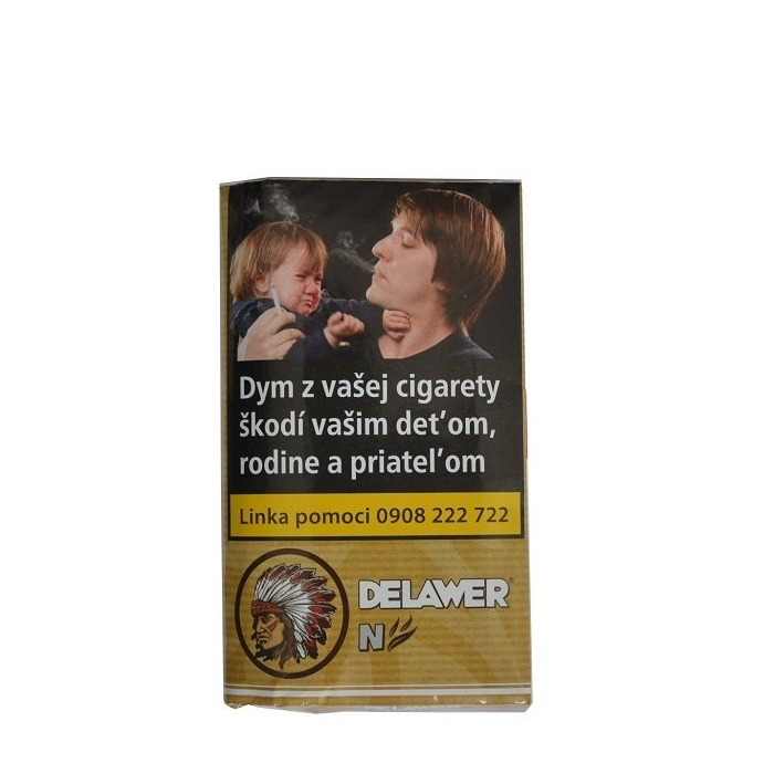 "Tabak cigaretový Delawer Natural 30g ""C"" TT"