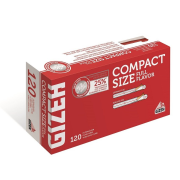 Cig. dutinky GIZEH Compact 120 7,2 mm