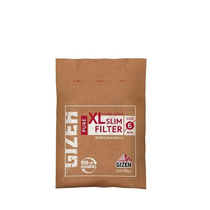 Filter GIZEH PURE 120 Slim Filter XL